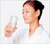胃腸に負担をかけないから毎日の飲み水や水出し茶に。