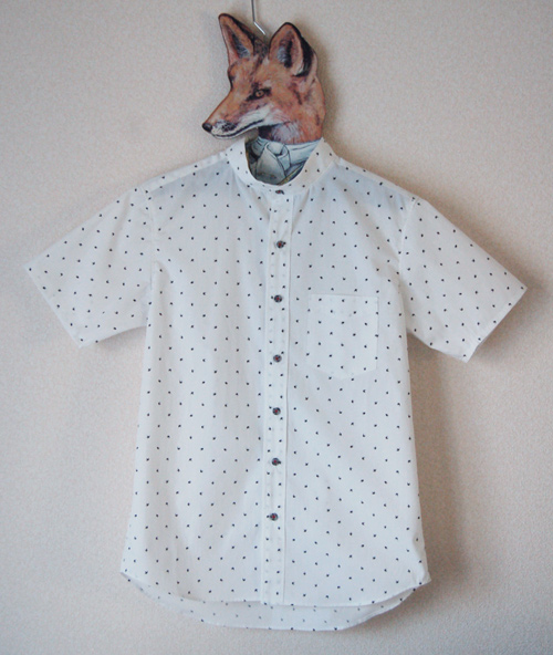 半袖ツバメシャツ