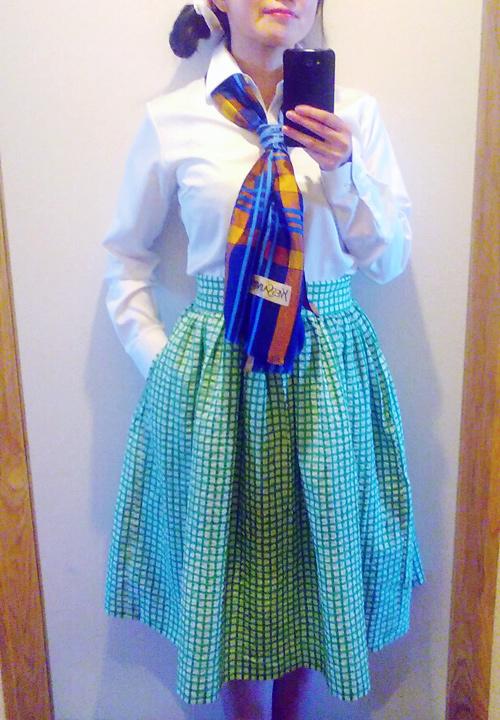 50年代風スカート