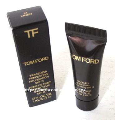 TOM FORD BEAUTY トム フォード ビューティ  トレースレス パーフェクティング ファンデーション SPF 15