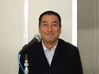 矢島敏幸氏