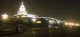 夜の天安門広場