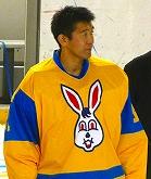 コクドのゴールを守った信田憲司選手