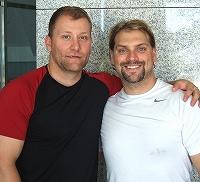 ティム・スミス選手(写真左)とトレバー・ギャラント選手(写真右)