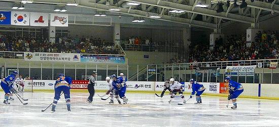 アニャンハルラvsHigh1の開幕戦
