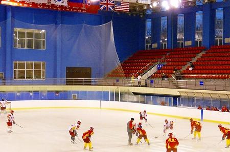 ハルビン体育学院滑氷球館