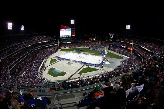AHL Outdoor Game at Philadelphia