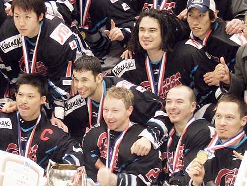 Ryan Kuwabara and His Teammate