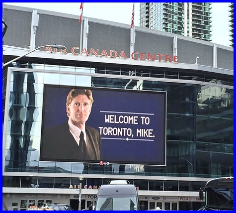 Welcome to Toronto, MIKE