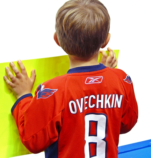 Alexander Ovechkin's Huge Fan