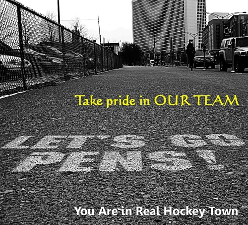 You Are in Real Hockey Town