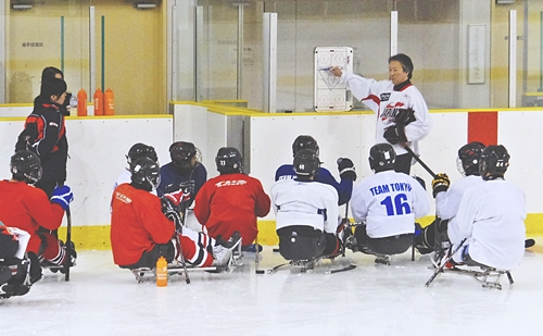 Sledge Hockey Japan National Team