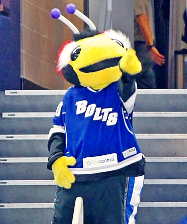 Thunder Bug  Mascot of Tampa Bay Lightning
