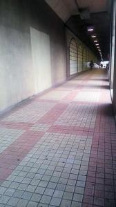 六本木トンネルの中