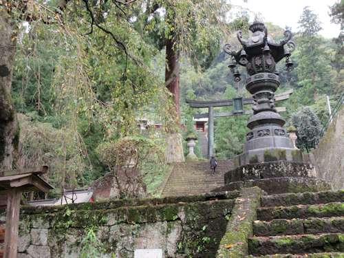 妙義神社の階段