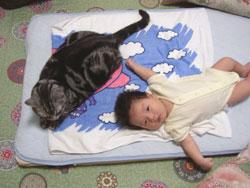 虎之介さんよりも大きくなりました。