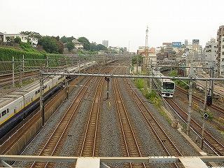 日暮里駅の線路