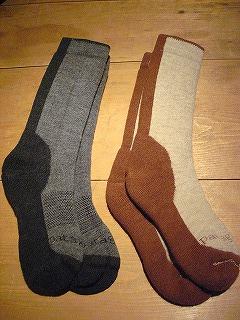 パタゴニアの靴下