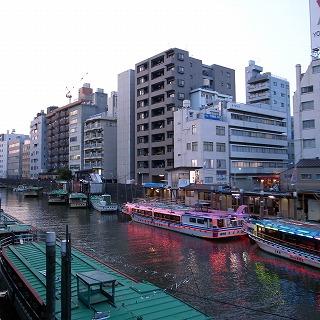 浅草橋屋形船