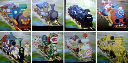 ゼルダ機関車