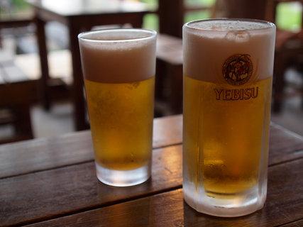 弥四郎小屋ビール1