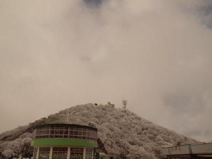 雪の筑波山2