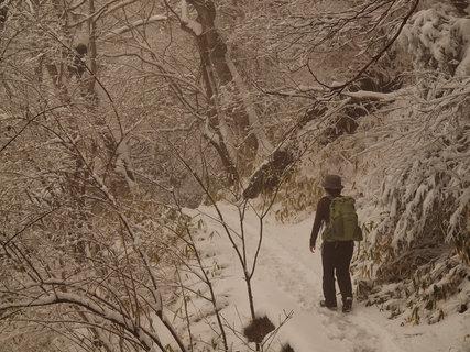 雪の筑波山4