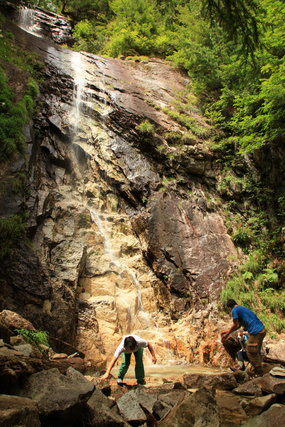 廻り目2012?カモシカ唐沢の滝