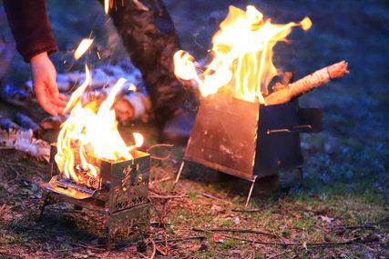 焚き火ランデブー