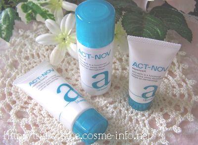 高機能スキンケア・アクトノブ・ACT−NOV