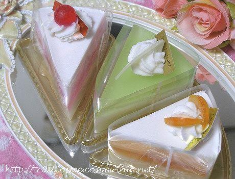 見ためも香りもケーキみたいな石けんの口コミ!女性支持率100%のプレゼントなら、ケーキ石けん♪