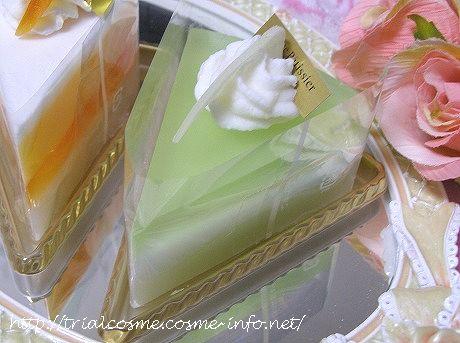 見ためも香りもケーキみたいな石けんの口コミ!女性支持率100%のプレゼントなら、『まるごとケーキ石けん』♪ラ・フランス