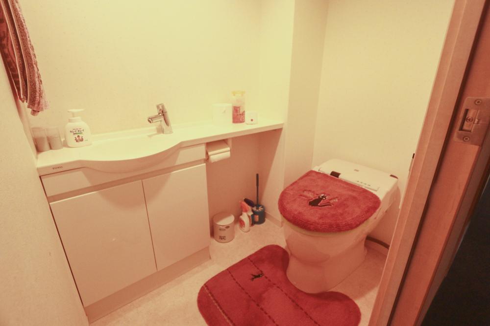 フローレンス芳泉グランドアークのトイレ