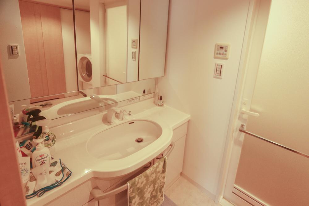 フローレンス芳泉グランドアークの洗面所