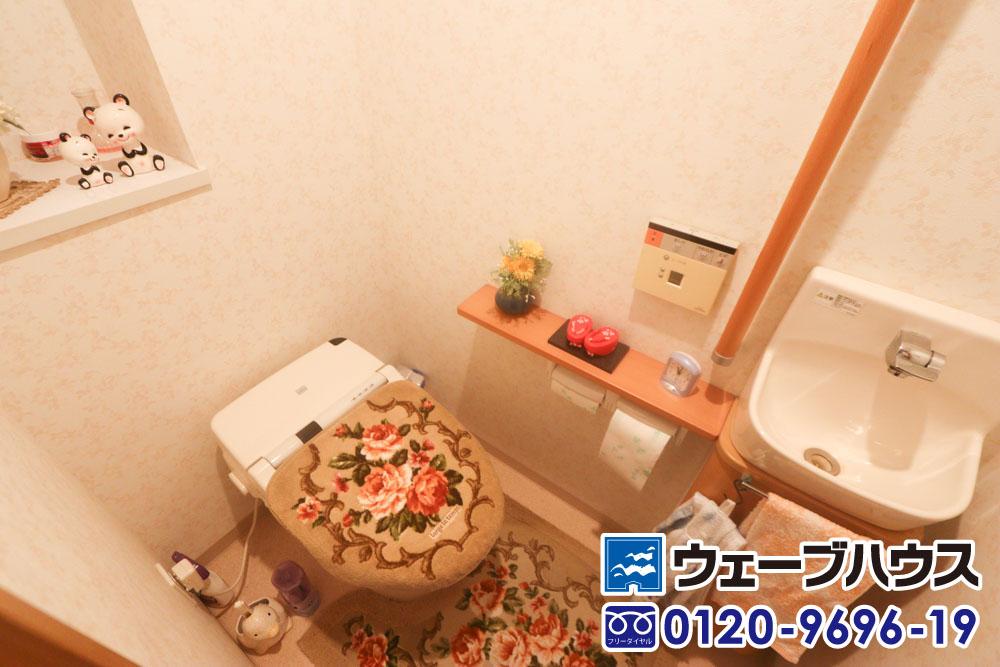 エヌ・グランデ豊成のトイレ