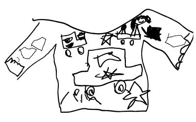父の日の子供のイラスト1