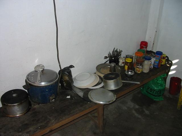 炊飯器と調味料類