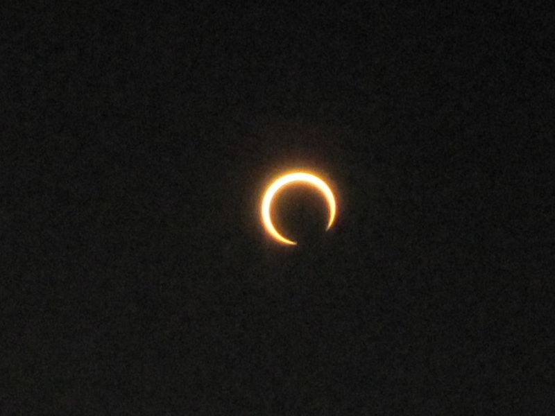 金環日食?