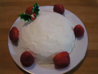 有機バニラビーンズ使って「初めて作ったクリスマスケーキ」