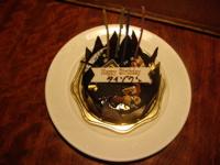 timeless design fd675 8256e その夜の次の日はTaizo氏の誕生日でした。