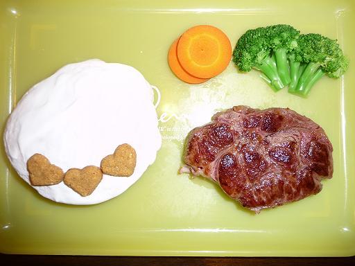 タルトのディナー