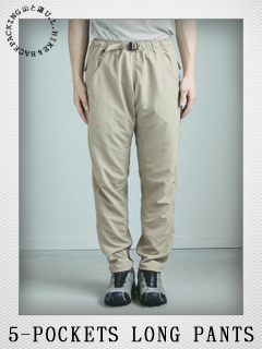 5-POCKETS LONG PANTS