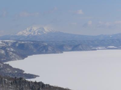 美幌峠から名峰斜里岳が綺麗に望めました。
