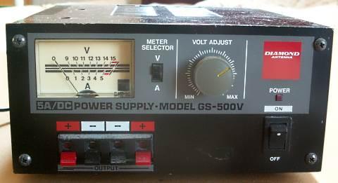 安定化電源9〜15V5A