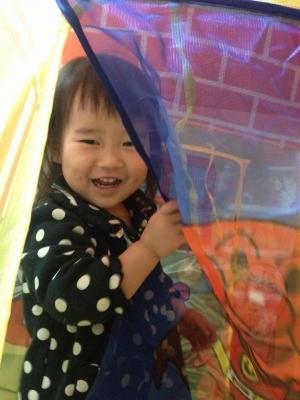 孫のゆらちゃん、2歳の誕生日