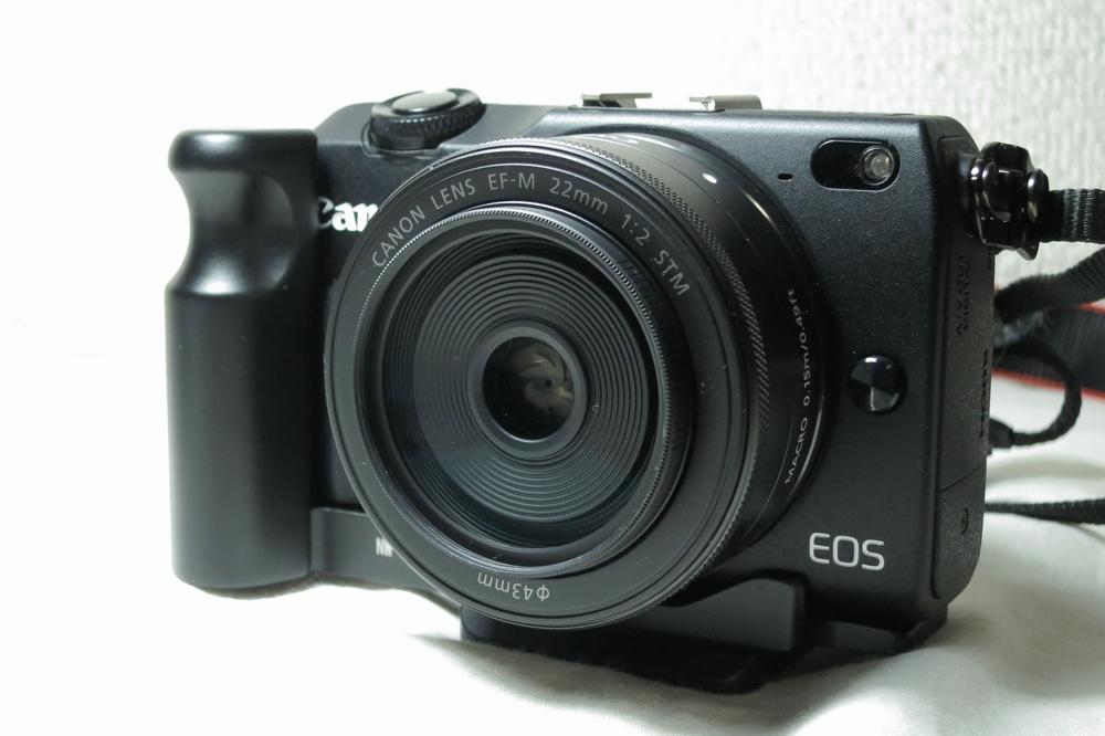 EOS M2 + ハンドグリップ sono2