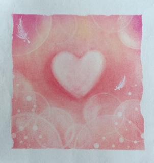 Precious heart  絵/AQUA  詩/しんご