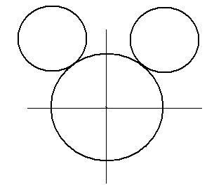 ディズニーの噂・裏技・裏話_ミッキーの描き方(書き方)手順1