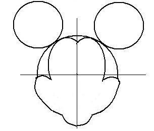 ディズニーの噂・裏技・裏話_ミッキーの描き方(書き方)手順2