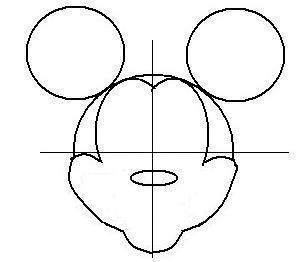 ディズニーの噂・裏技・裏話_ミッキーの描き方(書き方)手順3